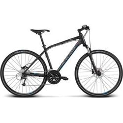 "2018 KROSS 28"" EVADO 6 vel.19"" - black/blue matt"