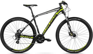 "2018 KROSS 29"" LEVEL 1.0 vel.21"" - black/lime/silver matt"