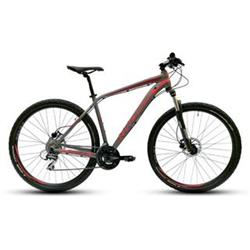 "2018 KROSS 29"" LEVEL 2.0 vel.21"" - graphite/red/burgundy matt"