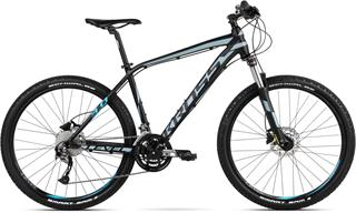 "2018 KROSS 29"" LEVEL 3.0 vel.21"" - black/steel/blue matt"
