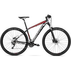 "2018 KROSS 29"" LEVEL 6.0 vel.19"" - black/white/red matt"