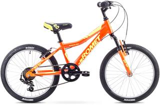 "2018 ROMET 20"" Rambler kid orange/yellow"
