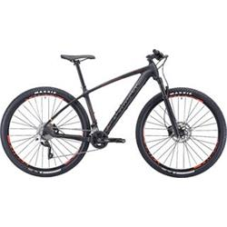 "29""  SILVERBACK 2020 Storm - 17,5"" - raw carbon/ hot red/ aston black"