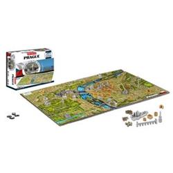 4D PUZZLE Cityscape Time panorama Praha