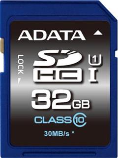 ADATA Secure Digital SDHC 32GB UHS-I Class10