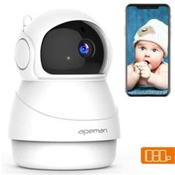 Apeman IP kamera ID73, 1080P Full HD, WiFi, indoor, bílá
