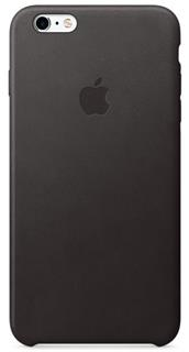 APPLE iPhone 6S Leather Case - Black (mkxw2zm/a)