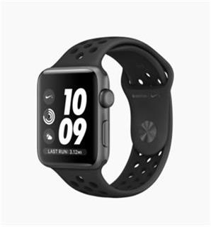 APPLE Watch Nike+ GPS, 42mm Space Grey Aluminium Case with Anthracite/Black Nike Sport Band