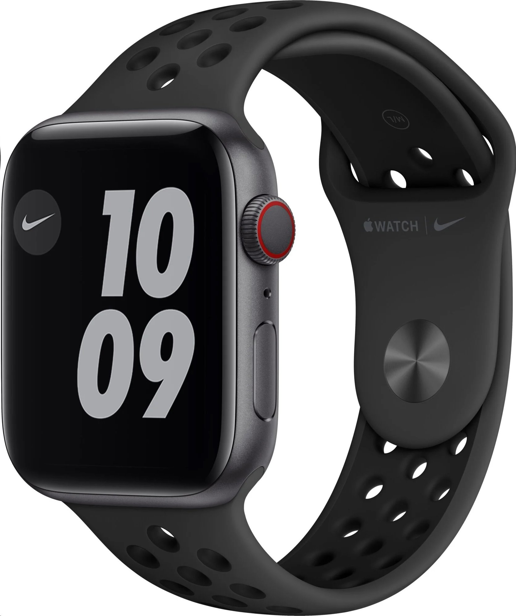 APPLE Watch Nike Series 6 GPS+Cellular,44mm Space Grey Aluminium Case with Anthracite/Black Nike Sport Ba