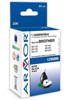 ARMOR cartridge pro BROTHER DCP-110/115 Black (LC-900BK) - alternativní