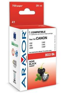 ARMOR cartridge pro CANON S400/500/600/i550 Black (BCI-3Bk) - alternativní