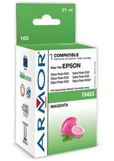 ARMOR cartridge pro EPSON Stylus Photo R200/R300/RX500/RX600 magenta (T048340) - alternativní