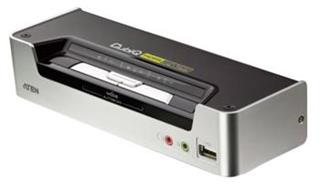ATEN 2-port KVMP USB HDMI, usb hub, audio