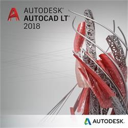 Autodesk AutoCAD LT 2018 Commercial New Single-user ELD Annual Subscription (1rok ESD)