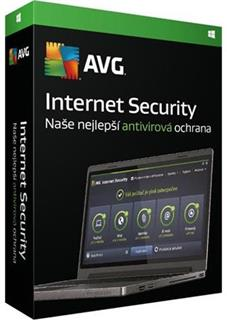 AVG Internet Security 3 lic. 1 rok, RK Obálka update ISCEN12OCZK003