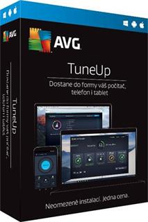 AVG TuneUp Unlimited, 1 rok, elektronicky