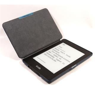 C-TECH pouzdro Kindle Paperwhite, hardcover, modré