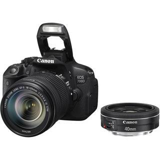 Canon EOS 700D + EF-S 18-135 IS STM + EF 40mm STM