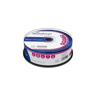 CD-R MediaRange 700MB 52x SPINDL (25pack)