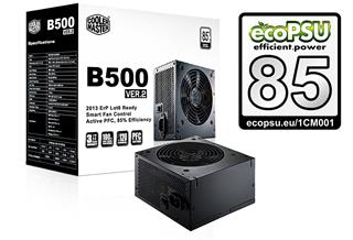 CoolerMaster B2 series 500W PFC v2.3. 12cm fan