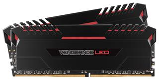 Corsair Vengeance LED DDR4 16GB (2x8GB) 3000MHz CL15 Red