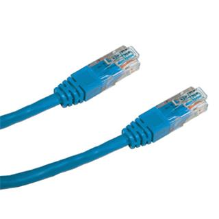 DATACOM PATCH KABEL UTP CAT6 0.25m modrý