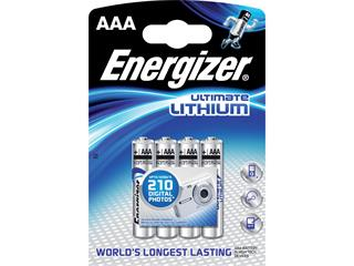 Energizer Ultimate Lithium AAA 1.5V lithiová  4ks