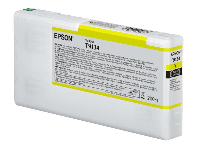 Epson T9134 - žlutá - originál - inkoustová cartridge