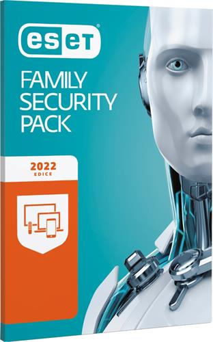 ESET Family Security Pack 3 lic. 1 rok krabice EFSP003N1