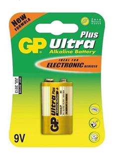 GP Ultra Plus Alkaline 9V blistr 1 kus