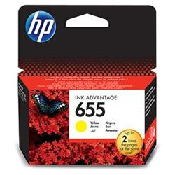 HP 655 Yellow CZ112AE