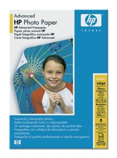 HP Advanced Glossy Photo Paper 250g/m2 10x15cm borderless 25 (Q8691A)