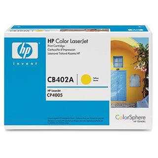 HP CB402A Yellow