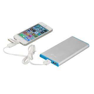 i-tec Metal Power Bank 12000 mAh Li-pol externí baterie pro iPhone, iPad, iPod, Samsung, Smartphone, Android, GPS, micro USB kabel
