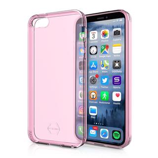 ITSKINS Zero Gel 1m Drop Apple iPhone 5/5S/SE,Light Pink