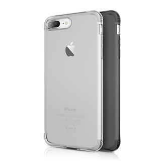 ITSKINS Zero Gel 2 Pack Apple iPhone 7 Plus, Black+Clear