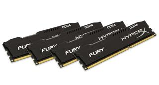 Kingston HyperX Fury 32GB (Kit 4x8GB) 2133MHz DDR4 CL14, černý chladič