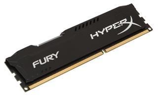 Kingston HyperX Fury 8GB 1600MHz DDR3 CL10 (10-10-10-30), černý chladič