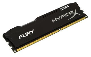 Kingston HyperX FURY Black Series 8GB 2666MHz DDR4 Non-ECC CL15 DIMM