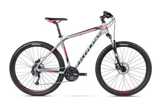 "Kross 16 HEXAGON R5 27,5"" L grey/black/red matt"