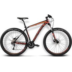 "Kross 2017 Level B2 M/19"" black/red/orange glossy"