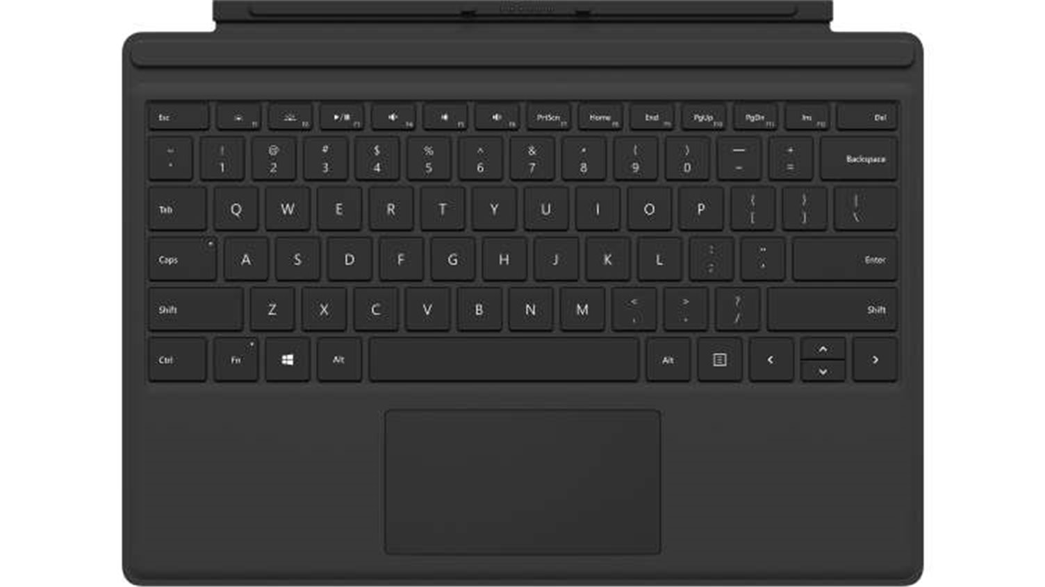 Microsoft Surface Pro Type Cover (Black),ENG