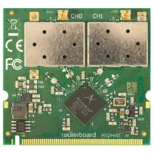 MikroTik RouterBOARD R52HnD