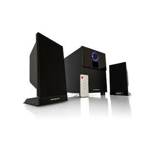 MODECOM reproduktory MC-2141 black/černé 12W RMS zvukový systém 2.1