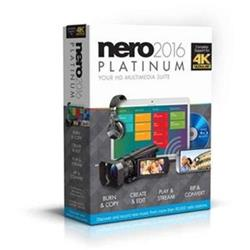 Nero 2016 Platinum - CZ - play Ultra HD (4K) Video (EMEA-12260000/1316)