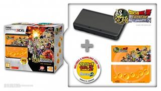 New Nintendo 3DS Black+Dragonball Z+SNES+Faceplate (NI3H97019)