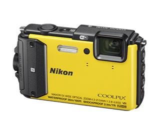 Nikon COOLPIX AW130 Yellow (VNA844E1)
