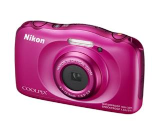 Nikon COOLPIX S33 Pink Backpack kit (VNA852K001)
