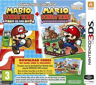 Nintendo 3DS - Mario and Donkey Kong: Minis