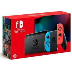 Nintendo Switch (2019), neon red&blue